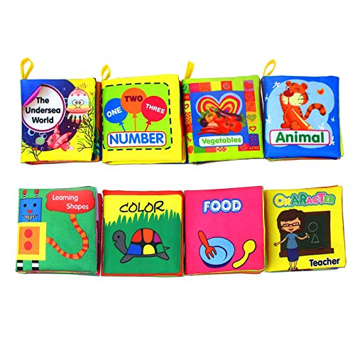 Coolplay Baby's First Non-Toxic Soft Cloth Book Set