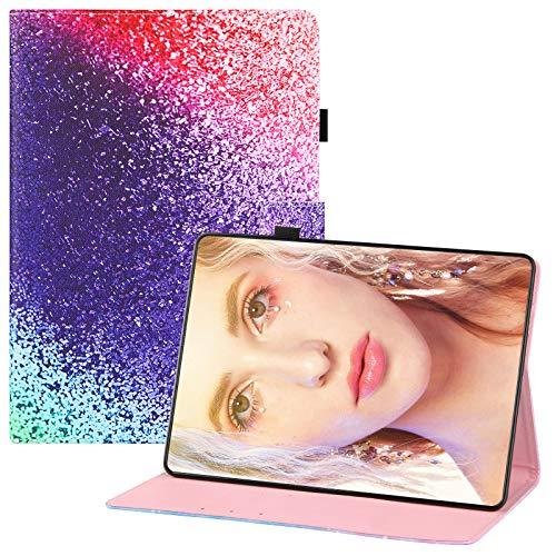 Qiaogle Tableta Case - PU Cuero Clamshell Carcasa Funda para Amazon Kindle Paperwhite 2013/2014 / 2015 6.0' - HX07 / Rainbow
