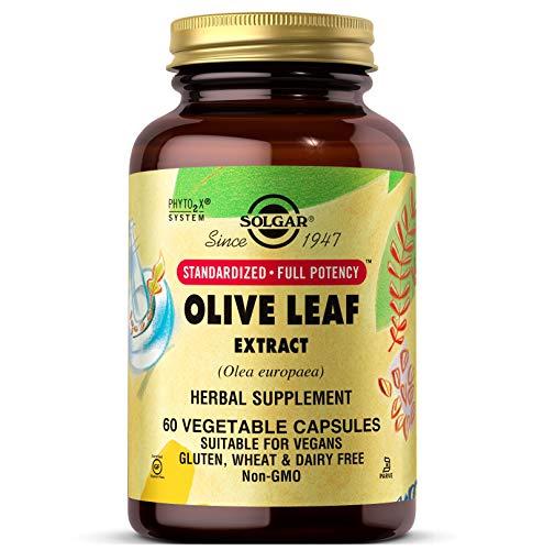 Solgar Olivo Extracto de hoja Cápsulas vegetales - Envase de 60