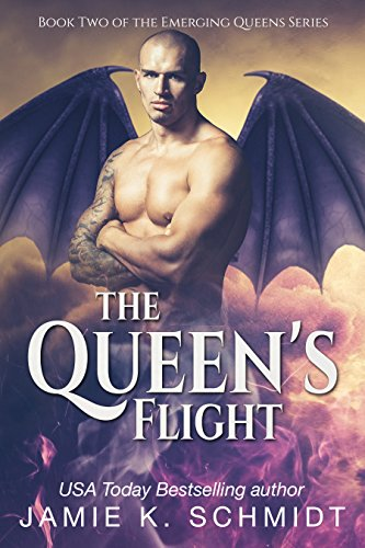 The Queen's flight by Jamie K Schmidt