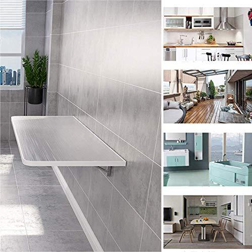 ZXYY tafel, inklapbaar, bevestiging aan de werkbank, robuust, roestvrij staal, perfecte aanvulling voor garage en hangar waskeuken, keuken en eetkamer