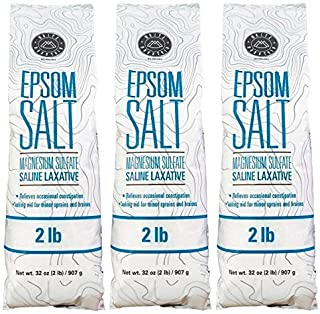 White Mountain White Mountain Epsom Salt Containers, 3 lb, 2 Pack