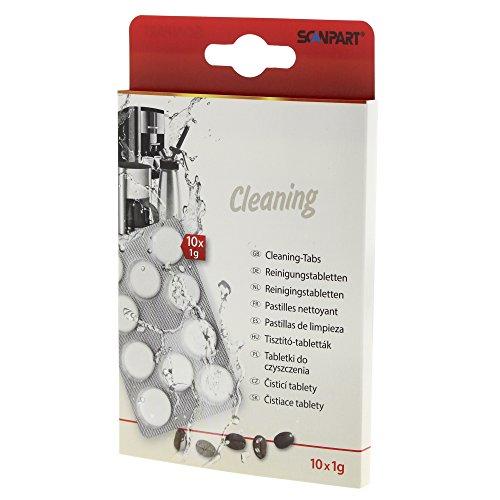 Scanpart 10 pastiglie per la pulizia