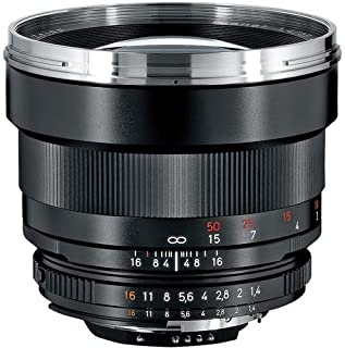Zeiss 85mm f/1.4 Planar T ZF.2 Manual Focus Telephoto Lens (for Nikon)