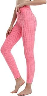 comprar comparacion B/H Mujer Ganduleado, Fitness Yoga Pantalones,Pantalones Yoga Fitness Rosa para Mujer, Ropa portiva Gimnasia, Pantalones Y...