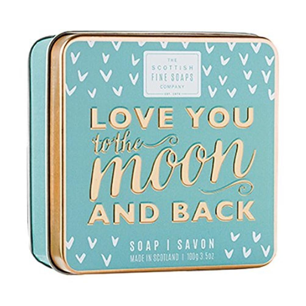 利益型アンプScottish Fine Soaps Love You To The Moon & Back Soap Tin 100g