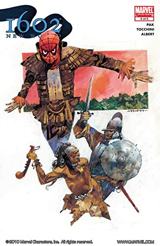 Marvel 1602 #5: New World (Marvel 1602: The New World) (English Edition)