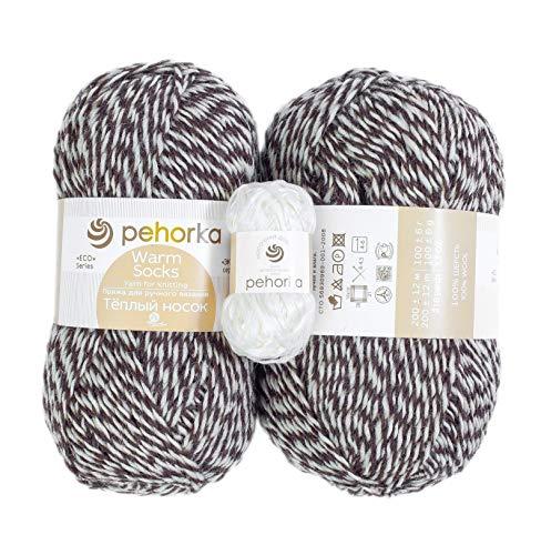 Pehorka Sheep Wool Worsted Yarn - S…