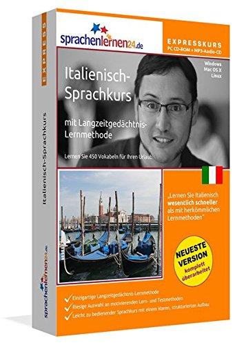 Sprachenlernen24.de Italienisch-Express-Sprachkurs PC CD-ROM für Windows/Linux/Mac OS X + MP3-Audio-CD: Werden Sie in wenigen Tagen fit für Ihre Reise ... Computer / MP3-Player / MP3-fähigen CD-Player