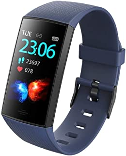 Reloj de Seguimiento de Actividad de Contador de calorías Smart Band de 0,96 Pulgadas Contador de calorías (Color: Rojo)