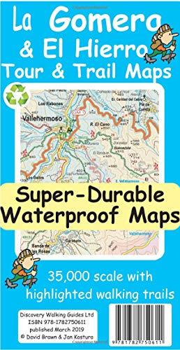 La Gomera and El Hierro Tour and Trail Maps