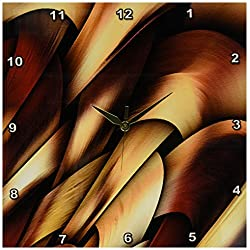 3dRose DPP_4062_2 Digital Artwork Design Wall Clock, 13 by 13-Inch