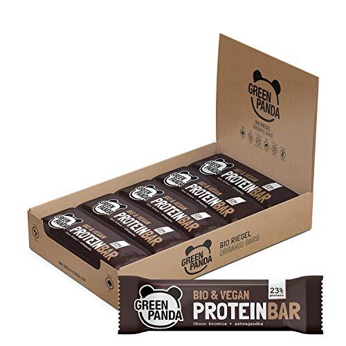 Proteinriegel vegan ohne Zucker mit mehr als 20% BIO Pflanzenproteine, (Kürbiskern-, Hanf- und Sonnenblumenkernprotein), 12 x 30 g vegan Protein Riegel in 3 verschiedenen Geschmackssorten