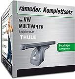 Rameder Komplettsatz, Dachträger SquareBar für VW MULTIVAN T6 (124911-14349-1)
