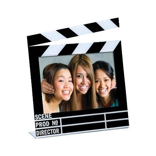 "Neil Enterprises Acrylic Movie Clapboard Photo Frame (7"" x 5"")"