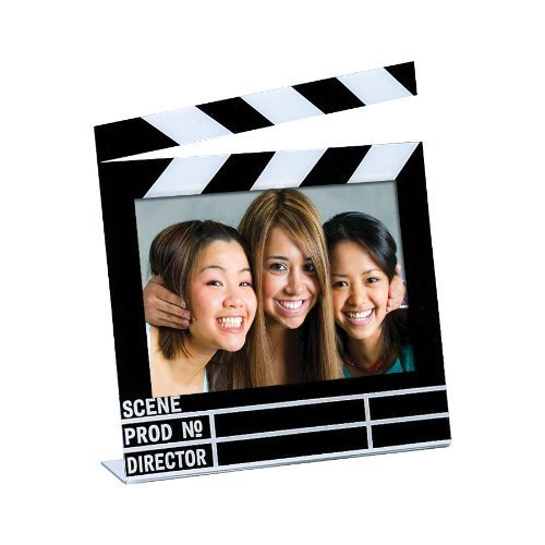 "Neil Enterprises Acrylic Movie Clapboard Photo Frame (7"" x 5"")"