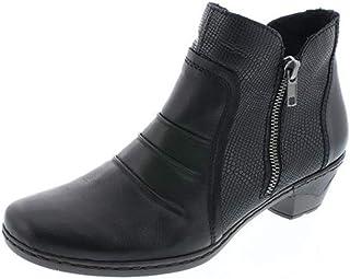 Rieker 76962 - 00 Schwarz (Black) Womens Boots 41 EU