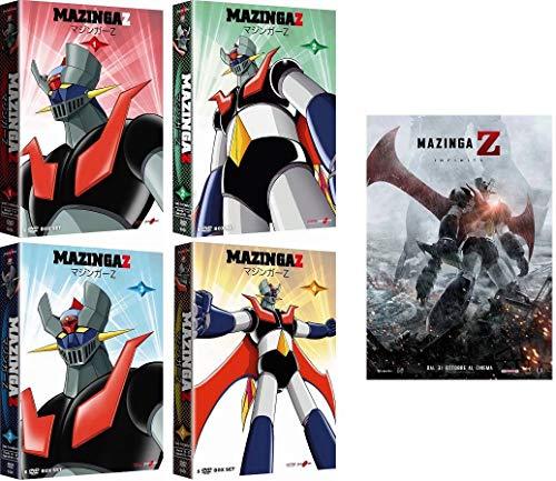 MAZINGA Z - Vol. 1+2+3+4 + Il Film (24 Dvd)