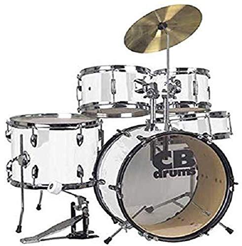 CB Drums Junior Drum Set (JRX55-PKWH)