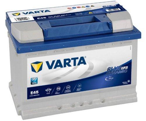BATTERIA VARTA N70 BLU-DYN-EFB 12V 70Ah DIM: 278x175x190 B13 POL.1DX