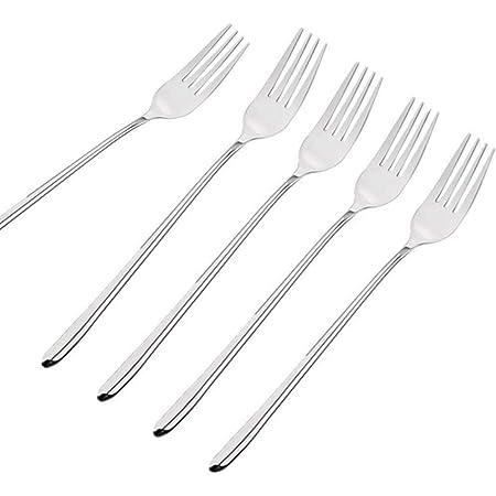 1 pcs Yosoo Telescopic Fork Extendable Long Handle Fork Barbecue Toasting Dinner Fruit Dessert Long Fork Cutlery
