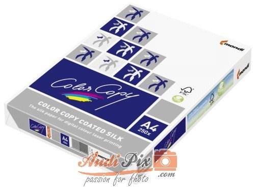 MONDI BUSINESS Color Copy coated, silk Papier A4 250 Blätter 200 g / m² Laserdrucker / Laserkopierer