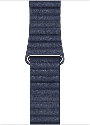 Apple Watch Correa Loop de Piel Azul Profundo (44mm) - TallaL
