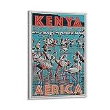chenyun Vintage Kenia Poster auf Leinwand und