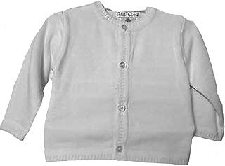 Unisex Cardigan Sweater Infant White