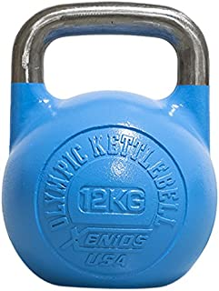 Xenios USA XSSTOKBL12 Pesa Rusas - Russian Girevoy Competition Kettlebell 12 Kg Ideal para la práctica del Entrenamiento F...