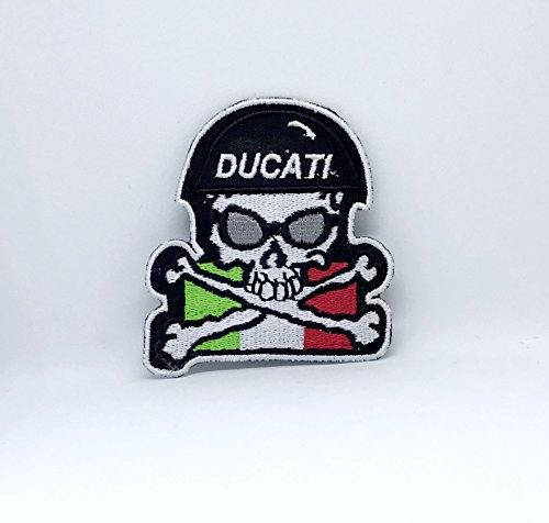 Ducati - Parche bordado coser planchar motocicletas