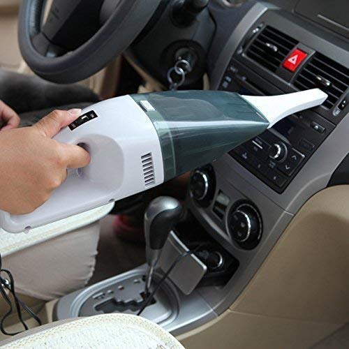 CBEX Powerful Portable and High Power Plastic Handheld Car and Home Mini Super Suction Wet and Dry...