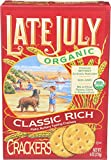 Late July, Cracker Classic Rich Organic, 6 Ounce