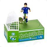 diamanstar Hucha Cute Soccer Shooting Coin Bank, Caja de Dinero de Juguete para Monedas, Banco de Monedas de Juguete de Jugador de fútbol, Caja de Ahorro de Dinero, Banco de Dinero para niños