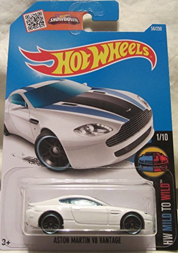 Hot Wheels 2016 HW Mild to Wild Aston Martin V8 Vantage 56/250, White