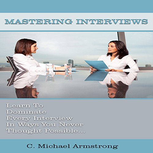 Mastering Interviews audiobook cover art