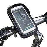 Cxssxling - Soporte para teléfono móvil y Bicicleta, Soporte para Smartphone o Moto, Accesorio Giratorio para teléfono móvil