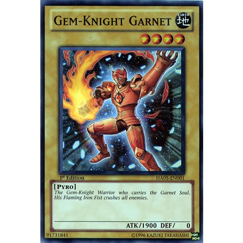 yugioh gem knight garnet - 6