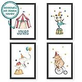 Papierdrachen 4 Premium Poster DIN A4   Personalisierte