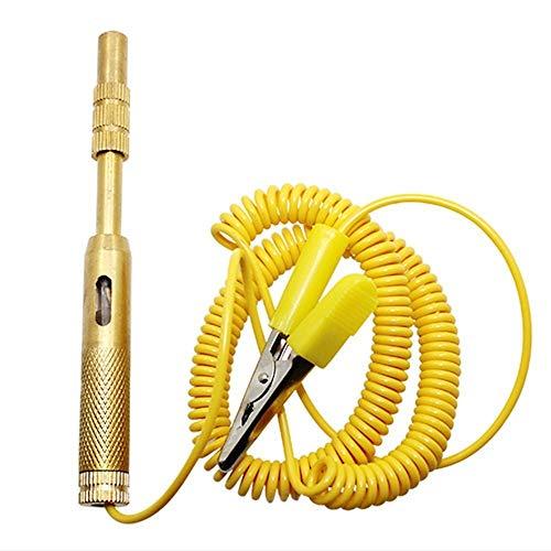 IENPAJNEPQN Automobil-Spannungsprüfer Stift elektrischer Auto-Licht-Lampe Test Bleistift 6V / 12V Reifendruckmessgerät Druckmessgerät