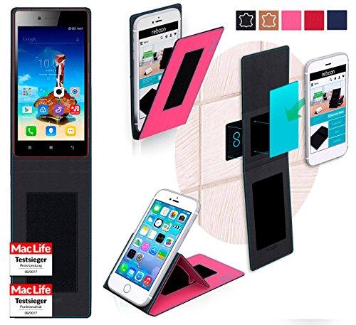 Hülle für Lenovo Vibe Shot Z90 Tasche Cover Case Bumper   Pink   Testsieger