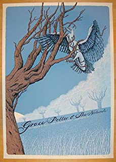 2013 Grace Potter - Asheville Concert Poster by Neal Williams