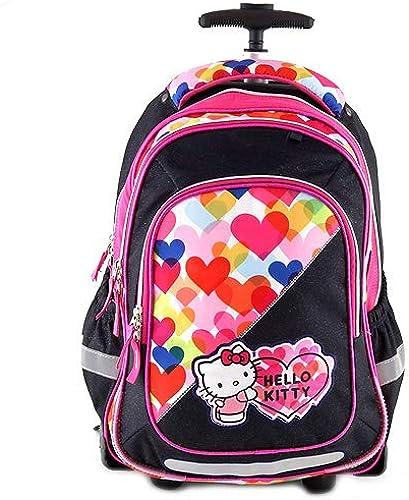 punto de venta Target - Bolso Escolar con Ruedas, Diseño de Hello Hello Hello Kitty, Color azul  para mayoristas