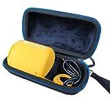 Cas Étui De Voyage Rigide Housse Pour Sony SRS-XB10B Enceinte Portable Compacte Sans Fil Bluetooth Par LAVSS-Noir