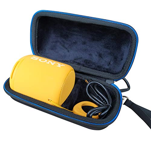 LAVSS - Funda para altavoz portátil inalámbrico Sony SRS-XB10, color negro
