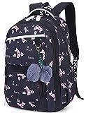 Mädchen Rucksack Blumen Schulrucksack Daypack Damen Teenager Reise Schultasche Laptop Backpack für...