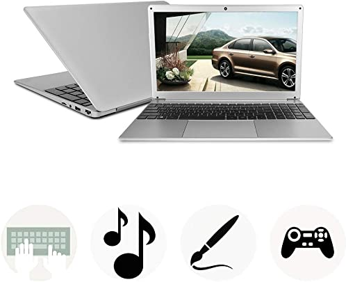 Lazmin 15 6-Zoll-Laptop mit IPS-Bildschirm Intel Core i3-5005U GB RAM 256 GB SSD WiFi Bluetooth Windows 10-Office-Laptop EU-Stecker Schätzpreis : 446,99 €