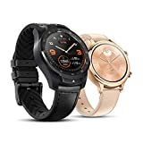 TicWatch Pro 2020 and TicWatch C2 Rose Gold Bundle- TicWatch Pro 2020 wear os by Google GPS NFC Waterproof smartwatch+TicWatch C2 Classic Design smartwatch