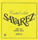 Savarez Cuerdas para Guitarra Clásica Alliance Cristal 570CS Juego Tensión alta amarillo