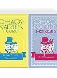 Chaoskarten Hochzeitsspiel – Editionen 1 + 2 = 102 Missionen